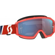 Scott Primal red/blue Motocross Goggles - Size: One Size