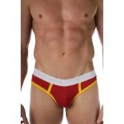Go Softwear California Colors Lo-Rise Brief Underwear Red/Gold 2011