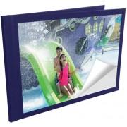 UNIBOOK Album 10x15cm 12 Páginas Autocolantes Azul