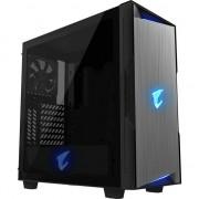 Carcasa PC Gigabyte Aorus C300 Glass RGB (GB-AC300G) , Micro ATX , ATX , Turnul Midi