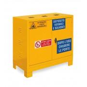 DULAP METALIC XECO2001 pt. substante periculoase 2 RAFTURI, 1000x550x1000 mm (LxlxH), Italia