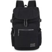 Vbiger School Bag Fashionable Light Brown Canvas Backpack for Travelling Ca 15 L Backpack(Brown)