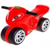 Детски мотоциклет за яздене, Polesie, червен, 411053