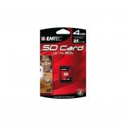 EMTEC Class 4 SDHC Flash Memory Card, 4 GB