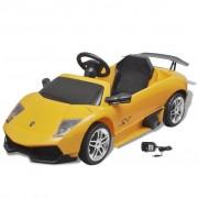 vidaXL Mașină electrică ride-on Lamborghini Murcielago LGO LP 670-4SV galben