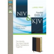 Side-By-Side Bible-PR-NIV/KJV-Large Print, Hardcover