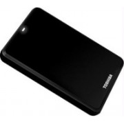 Toshiba Canvio Alumy 1 TB External Hard Disk Drive(Black)