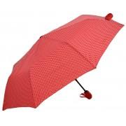 Umbrela Pliabila ICONIC Automata, Rosie cu buline,