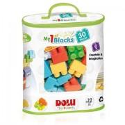 Set de constructie Primele cuburi de construit Dolu - 30 piese