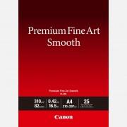Canon Papier A4 beaux-arts lisse Premium Canon FA-SM1 - 25 feuilles