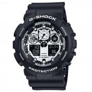 Reloj para hombre Casio G-Shock GA-100BW-1A - Negro y blanco