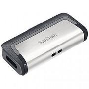 SanDisk USB 3.1 Flash Drive Ultra Dual 64 GB Black, Silver