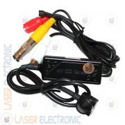 Micro Telecamera Miniaturizzata Pinhole CCD Sony 700TVL 14x14mm con Audio