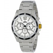 Invicta Watches Invicta Men's INVICTA-13975 Specialty Analog Display Japanese Quartz Silver Watch SilverSilver