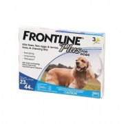 Frontline Plus Medium Dogs 23-44 lbs (Blue) 06 Doses