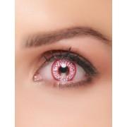 Vegaoo Kontaktlinsen Fantasie blutunterlaufen Auge Erwachsene Halloween