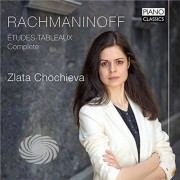 Video Delta Rachmaninoff / Chochieva - Rachmaninoff: Etudes-Tableaux - Complete - CD
