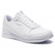 Puma Sneakersy PUMA - St Runner v2 L Jr 366959 02 Puma White/Gray Violet