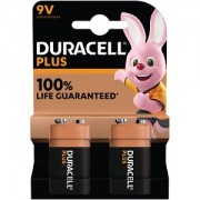 Duracell Plus Power 9v Pack de2 (MN1604B2)