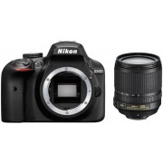 Nikon D3400 + AF-S DX 18-105mm VR KIT Цифров фотоапарат 24.2 Mp