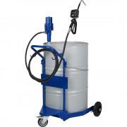 PRESSOL Öl-Fasswagen mit pneumatischer Ölpumpe 3:1 für 200-/220-l-Behälter