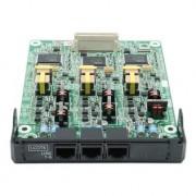 Tarjeta Panasonic KX-NS5180X de 6 líneas para NS500 y NS520