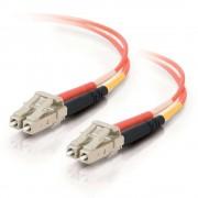 C2G 1m LC/LC LSZH Duplex 50/125 Multimode Fibre Patch Cable 1m LC LC Orange fiber optic cable