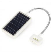 Solar leeslampje wit met klem