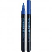 Marker cu Vopsea SCHNEIDER MAXX 271, Varf Mediu, Scriere 1-2 mm, Culoare Albastra, Marker Colorat, Marker pentru Birou