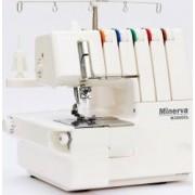 Masina de cusut combinata MINERVA M3000CL, 14 programe, 1300 imp/min, 105W,Alb