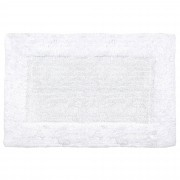 Linnea Tapis de bain 60x90 cm DREAM Blanc 2100 g/m2