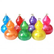 Fancyku Crystal Mud 7 Colors Mixed Slime Gourd Shape Slime Toy Magic Plasticine Slimes Stress Relief Toy Sludge Toy(7 Pack)