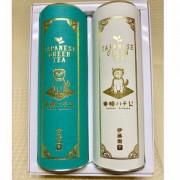 ≪ITOEN TEA GARDEN≫東横ハチ公ラベル まろやかな甘みのお茶40g・ほれぼれ40g詰合
