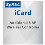 ZyXEL Licence for ZyWALL Firewall ApplianceLIC-EAP,E-iCard 8 AP license for Unified Security Gateway and VPN Firewall (all UAG/USG/ZyWALL products with AP Controller functions)