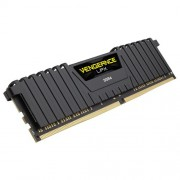DDR4, 8GB, 2400MHz, CORSAIR Vengeance LPX Black Heat spreader, Unbuffered, 1.20V, XMP 2.0 (CMK8GX4M1A2400C14)