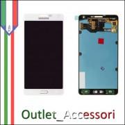 Display LCD Touch Samsung A7 A700F Bianco Schermo Completo Originale GH97-16922A