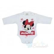 Disney Minnie hosszú ujjú body -80-as- UTOLSÓ DARAB