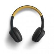 Слушалки Energy Sistem Headphones 3, безжични, микрофон, жълт, 200 mAh батерия