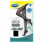 Reckitt Benckiser Scholl Light Legs Collant velate 20 denari compressione media colore nero taglia M
