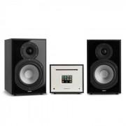 Numan Unison Reference 802 Edition – All-in-One Stereoanlage: CD-Player, Internetradio, Receiver & Verstärker inkl. 2 Boxen