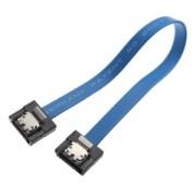 Cablu Akasa SATA3 Proslim 15cm, blue, AK-CBSA05-15BL