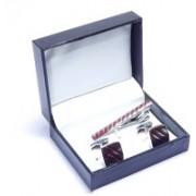 Mentiezi Brass Cufflink Set(Silver)