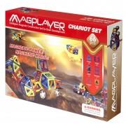 SET DE CONSTRUCTIE MAGNETIC - 66 PIESE - MAGPLAYER (MPA-66)