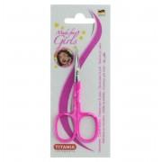 Titania Girl Forfecuta Unghii Nail Scissors Color Handle 1050/N