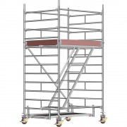 Layher Universal-Fahrgerüst mit Standleiter, Plattform 1,80 x 1,50 m Gerüsthöhe 3,43 m, ab 2 Stk