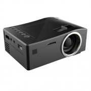 UC18 150 Lumens HD 320 x 180 Digital LED Projector with Remote Control Support USB / SD / VGA / HDMI(Black)