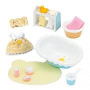 "Epoch Sylvanian Families Sylvanian Family Doll ""Baby Bath Set Ka-210"""