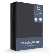 Beddinghouse Jersey-Lycra Topper Hoeslaken anthracite-140/160 x 200/220 cm