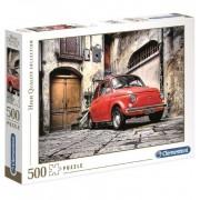 Puzzle 500 Fiat Cinquencento - Clementoni