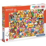 Puzzle Clementoni SuperColor Emoji, 180 piese